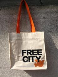 CANVAS SHOPPING TOTE BAG S | FREECITY