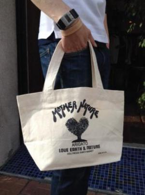 MOTHER NATURE TOTE BAG S